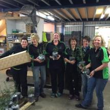 Staff at Garden Express